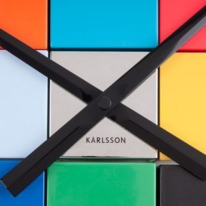 Karlsson DIY Cubic Multi-Color Wallclock